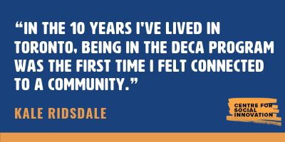 Quote from Kale Risdale's testimonial